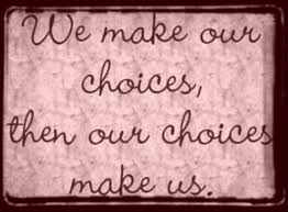 make choices