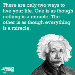 miracles- einstein
